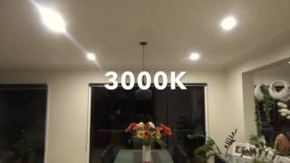Transition between 3000, 4000, 6000 K