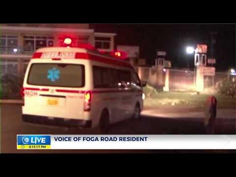 Four injured in Foga Road gun attack