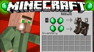 If Villagers Could Trade Mobs   Minecraft