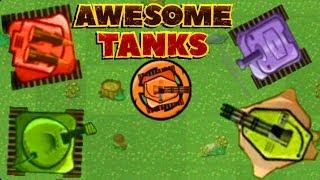 Авесоме ТАНКС безумные танки - Прохождение Игры #2 / летсплей развлекательное видео для детей