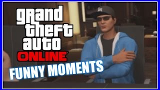 GTA 5 Online - CEO Office, Mysterious Red Vans, AMBELANS! (Funny Moments)