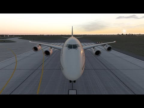 SSG Boeing 747-8i Advanced For X-plane 11