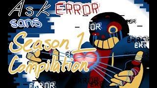 Ask Error! Sans 【Comic Dub】: SEASON 1 COMPILATION