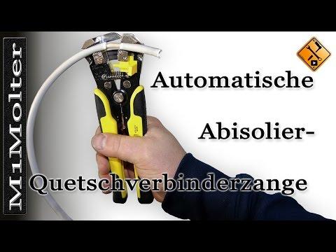 Automatische - Abisolierzange / Quetschverbinderzange erklärt von M1Molter