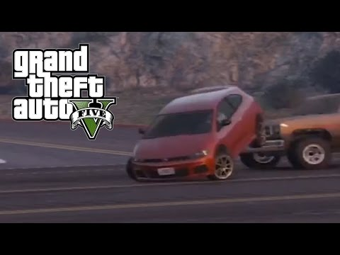 Best Car Crash Compilation #8 In Grand Theft Auto 5 (GTA V)