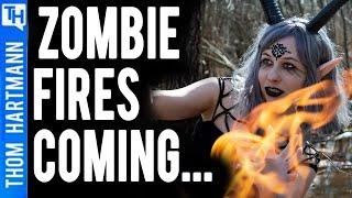 Climate Change Makes Zombie Fires More Common (w/ Dr. Michael Mann)