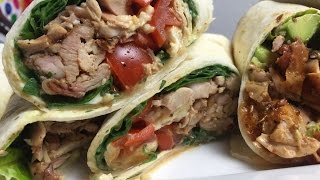 4 ideas for chicken wraps - english Grill- and BBQ-Recipe - 0815BBQ