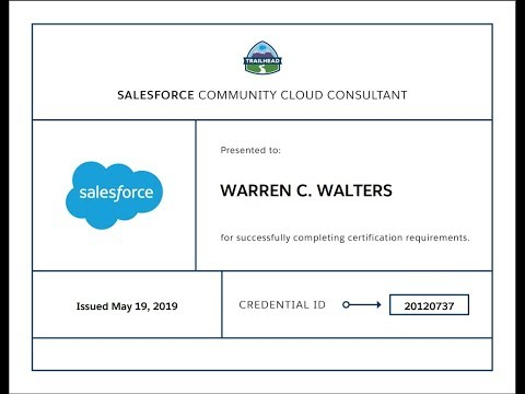 Salesforce Community Cloud Consultant Certification Study Guide ...