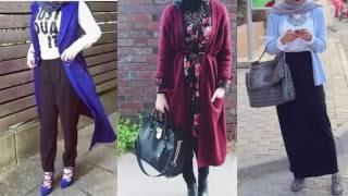 Casual Hijab Styles - Street Style Hijab 2016 - Hijab Lookbook