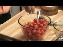 Ντοματάκια τσέρι αποξηραμένα στον φούρνο