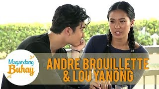 Lou and Andre open up about their relationship | Magandang Buhay