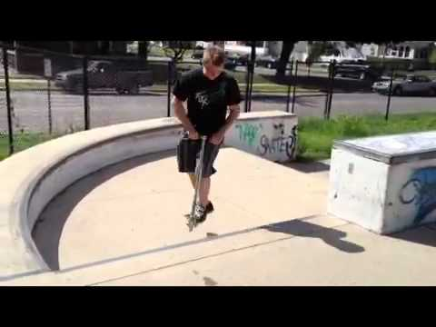 Richmond Indiana Skatepark Scootering