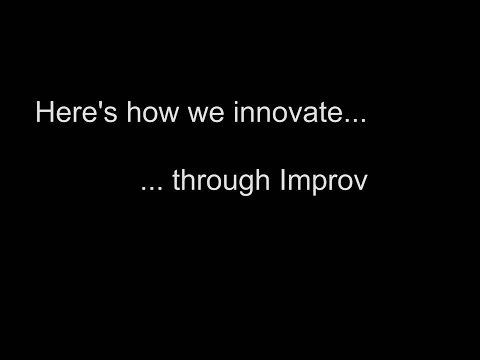 The Role of Play and Improv in Innovation lead by Christine Alexander at USF St. Petersburg, FL.