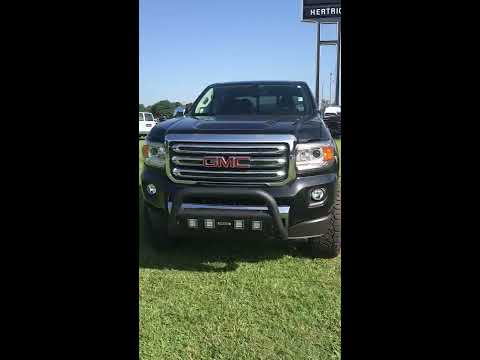 2019 GMC Canyon SLT Fox Racing  Lifted Wheels and Tires Hertrich Buick GMC.  #40211