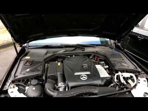 PKW Öl Stand messen Motoröl prüfen und nachfüllen Mercedes Benz C-Klasse MB C180 Limousine Anleitung