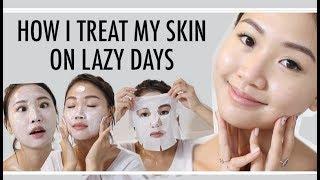 🎃 獨家宅女護膚保驟分享 How I Treat My Skin On Lazy Days | Pumpkin Jenn🎃