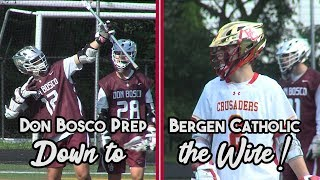 Don Bosco Prep 11 Bergen Catholic 10 | Non-Public A Quarters | Koleton Marquis Game Winner!