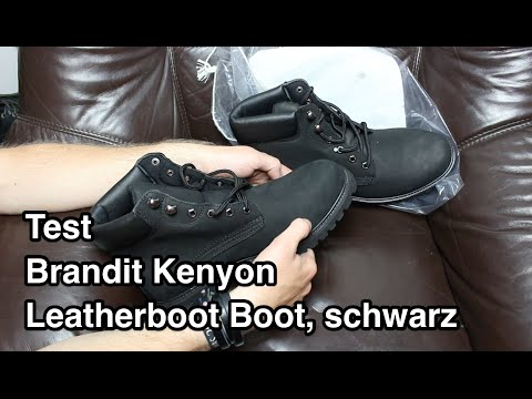 Обзор ботинок Brandit Kenyon Leatherboot