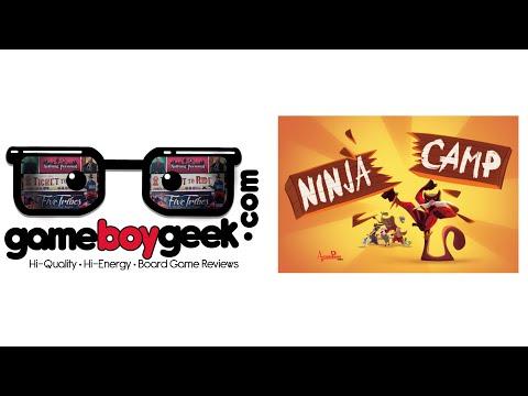 The Game Boy Geek Reviews Ninja Camp