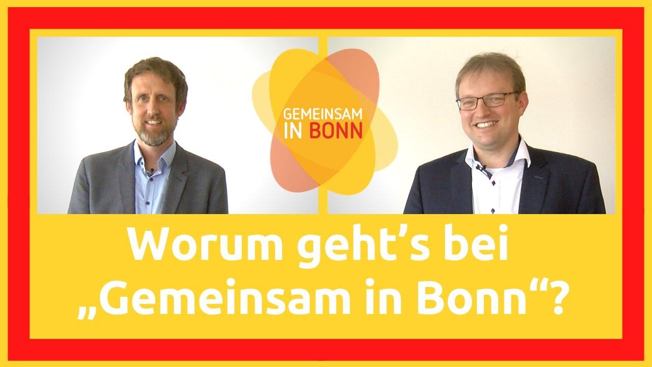"""Worum geht's bei """"Gemeinsam in Bonn""""?"""