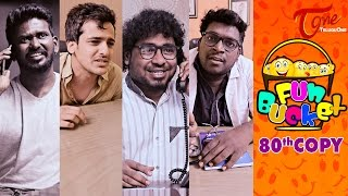 Fun Bucket | 80th Copy | Funny Videos | by Harsha Annavarapu | #TeluguComedyWebSeries