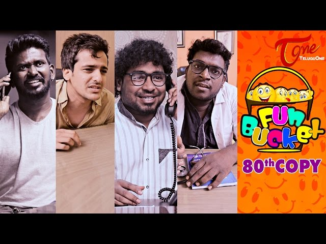 Fun Bucket – 80th Episode – 8th April 2017 | Mahesh, Vishnu Priya, Harsha
