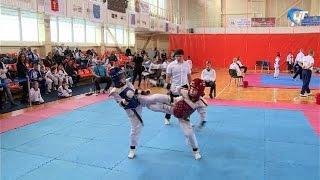 Состоялся открытый чемпионат области по тэйквондо, посвященный памяти Александра Бирюкова