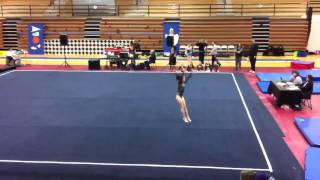 Anika's Gymnastics - Floor routine