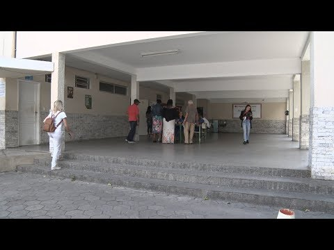 Maior colégio eleitoral de Nova Friburgo tem pouco movimento durante a tarde
