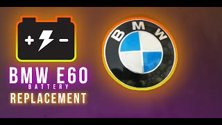 ▶️How To Replace And Install BMW 5 Series Battery E60 (w/Tips and Problem) Complete Guide