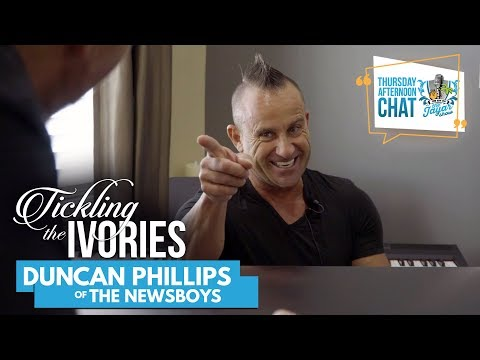 The Newsboys' Duncan Phillips takes us to the 70's on Tickling the Ivories | The Jayar Show