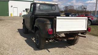 1955 CHEVY 3100 SHORT BED NAPCO 4X4 FOR SALE