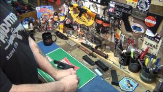 Installing A Trapezoid Grip Slide Lock On A Glock