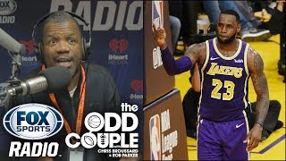 Chris Broussard - LeBron Got NO LOVE Because He's NOT Really a Laker