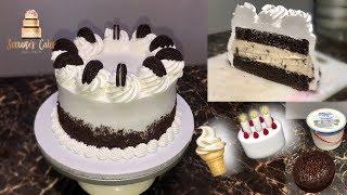 HOW TO MAKE AN ICE CREAM CAKE!