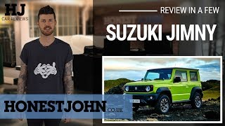 Car review in a few | 2019 Suzuki Jimmy - bafflingly brilliant