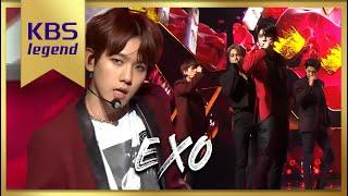 KBS가요대축제 -엑소 - tempo, love shot  20181228
