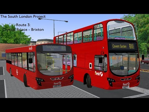 OMSI 2   South London Project - Route 3: Crystal Palace - Brixton   Volvo B9TL Gemini 2