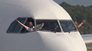 [FullHD] Captain's Last Flight ! Swiss Airbus A330-300 landing at Geneva/GVA/LSGG | Kholo.pk