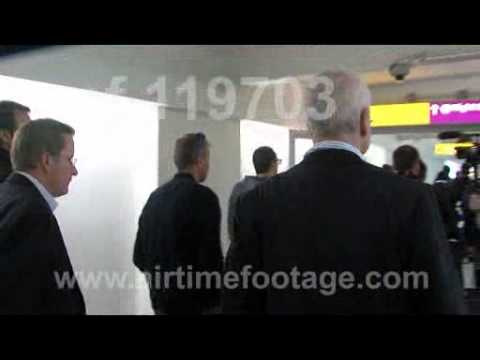 9d20cb64943 Russian oligarch Roman Abramovich at Heathrow with Chelsea footballers
