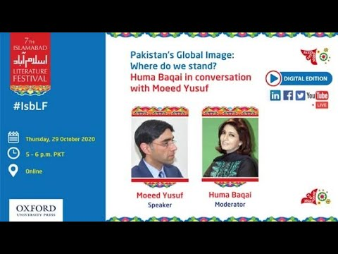 Pakistan's Global Image: Where Do We Stand? Oct 29, 2020
