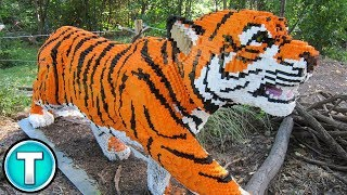 Top 10 Craziest Lego Creations Part 2 - Lego Sculptures To Blow Your Mind