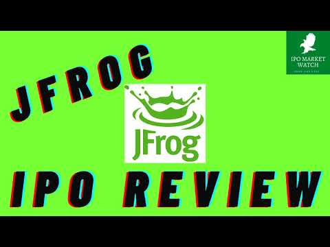New IPO JFROG Is Going Public Analysis And Review Of FROG Stock