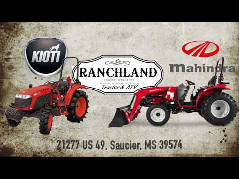 2020 Mahindra 4540 4WD in Saucier, Mississippi - Video 1