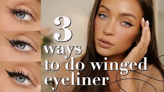 How To: WINGED LINER -pencil, Eyeshadow, & Liquid Methods For The Perfect Wing