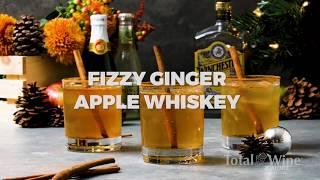 Fizzy Ginger Apple Whiskey Recipe