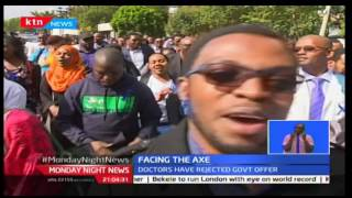Monday Night News: Council of Governors pushes the striking doctors' to the door hinting dismissal