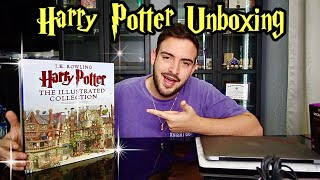 Unboxing The Harry Potter Illustrated Edition Box Set