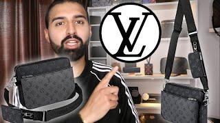 Louis Vuitton - MENS TRIO POUCH Unboxing, Review & Chit Chat