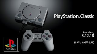 PlayStation Classic   Reveal Trailer